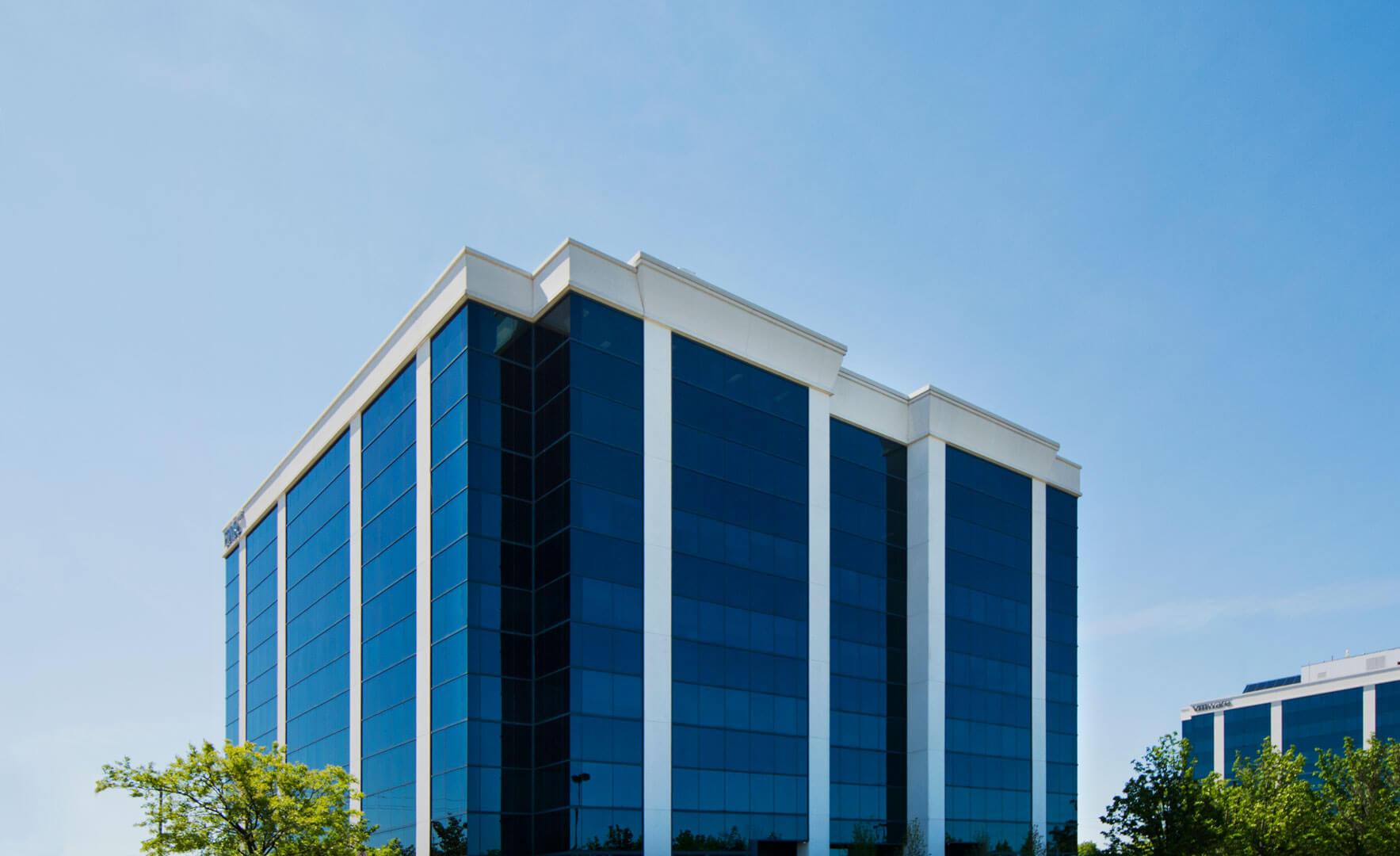 1111 International Blvd - top of building