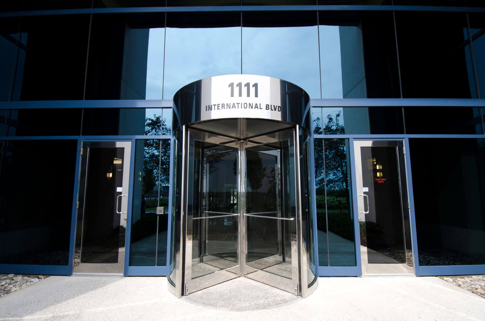 1111 International Blvd - sign