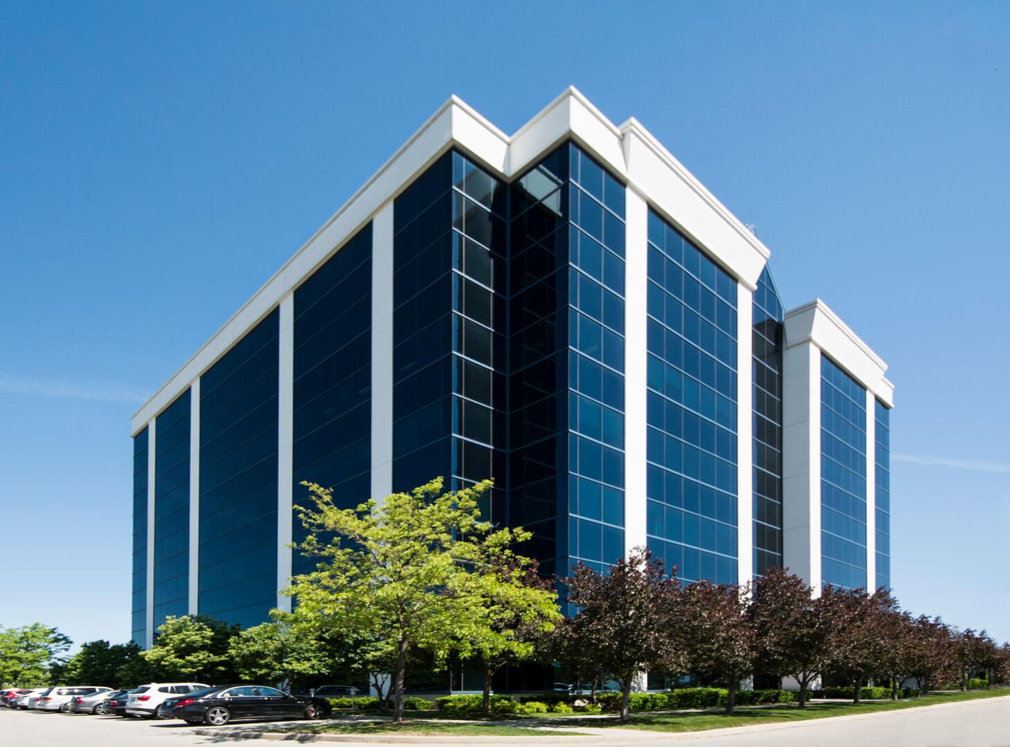1111 International Blvd - full building view